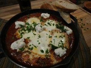 Shakshouka – Israeli dish, Italian twist
