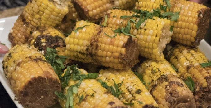 Corn on the Cob, Brown Butter & Feta