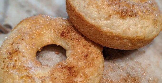 Churro Donuts, Baked